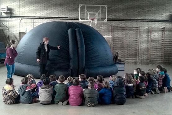planetari inflable