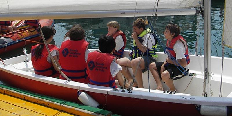 vela i kayac Calella de Mar i Arenys de Mar