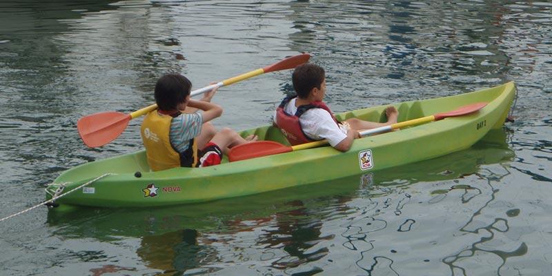 kayac i vela Arenys de Mar i Calella de Mar